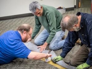 BIPL floor install