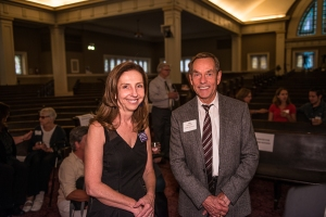 Cheri and Tom Rasmussen, Town Hall