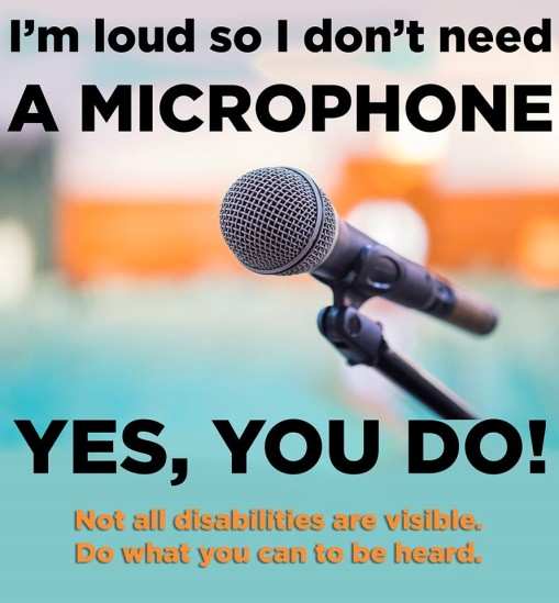 I'm loud microphone pic