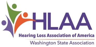 HLAA WA new logo 2018