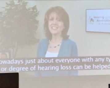 Barbara Kelly, HLAA Executive Director.