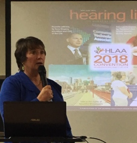 HLAA offers many benefits, including a convention, a magazine, and education.