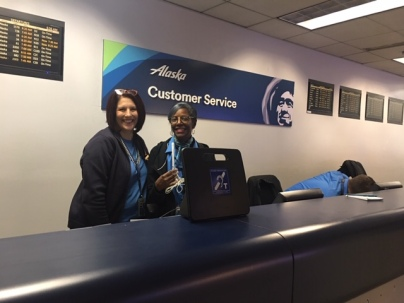 Alaska Airlines Staff Oct 2019
