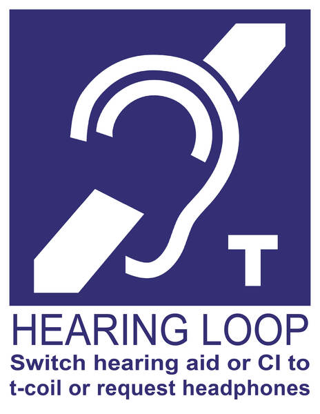new purple hearing loop tcoil sign with ear white bottom june 30 2020